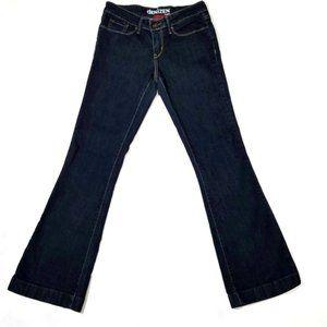 LEVI'S Denizen Dark Wash Bootcut Jeans sz 6